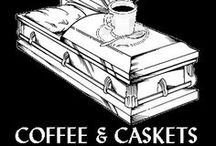 Coffee & Caskets / Our live End of Life (#EOL) Discussion series that takes place around the Cincinnati area and soon to be online as well