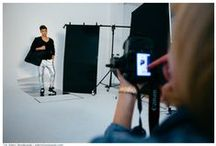 BACKSTAGE of MALE-ME FW14 AD CAMPAING / Photographed by Gabriela Lindner - Studio44 Model: Dustin Nowak   AMQ models Styled by: MALE-ME team Video: Kasia Dąbkowska Hair&Make-up: Bartek Osowczyk Photographer's Assistant: Wiktor Zawisza
