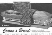 Crane & Breed (Cincinnati, Ohio) / The Crane & Breed Mfg. Co. of Cincinnati, Ohio. Makers of fine funeral merchandise from the late 1800's, through the mid 1900's.