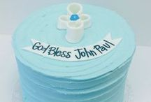 Religious Cakes / Cakes for baptism, christening, first communions, etc.