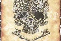Art By Khaos / Tattoo Designs