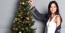 HOLIDAY AT HOME / Światło, ciepło i relaks! Swetry z dzianiny i ciepła odzież domowa są niezastąpione w sezonie zimowym. Przytłumione oświetlenie, miękkie koce i świąteczne dekoracje wykreują wspaniałe Święta!