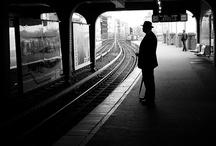 Street b&w / by Wim Peeters