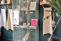 J&J at work / Our Craft Studio, Gallery & Gift Shop. Studio 117 Main Street, West Kilbride, Ayrshire, Craft Town Scotland