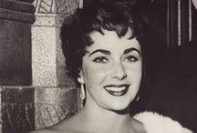 """Elizabeth Taylor / Dame Elizabeth Rosemond """"Liz"""" Taylor, DBE (February 27, 1932 – March 23, 2011) was a British-American actress. From her early years as a child star with MGM, she became one of the great screen actresses of Hollywood's Golden Age. She was also known for her violet eyes.  She was married 8 times to 7 husbands.  Richard Burton was the love of her life.  She had 2 sons & 2 daughters (one adopted from Germany). / by """"OLD  HOLLYWOOD"""" Actresses"""