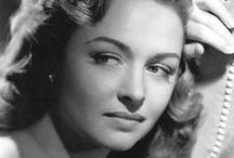 """Donna Reed / Donna Reed (January 27, 1921 – January 14, 1986) was an American film and television actress.  Later in Reed's career she replaced Barbara Bel Geddes as Miss Ellie Ewing in 1984 season of the television melodrama, Dallas, and sued the production company for breach of contract when she was abruptly fired upon Bel Geddes' decision to return to the show.  She was married 3x & had 4 kids (two oldest adopted).  She died of pancreatic cancer that was diagnosed 3 months earlier. / by """"OLD  HOLLYWOOD"""" Actresses"""