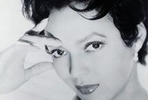 "Dorothy Dandridge / Dorothy Jean Dandridge (November 9, 1922 – September 8, 1965) was an American actress and singer, and was the first African-American to be nominated for an Academy Award for Best Actress.  Dandridge was married and divorced twice, first to dancer and entertainer Harold Nicholas (the father of her daughter, Harolyn Suzanne) and then to Jack Denison. She died at age 42 / by ""OLD  HOLLYWOOD"" Actresses"