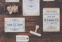 Wedding Invitation/Stationery Ideas