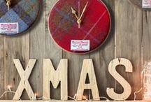 Harris Tweed Clocks / Original design Harris Tweed Clocks  crafted by hand in Ayrshire, Scotland by Scottish Clock Co.