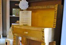 Muebles de cartón La Cartonería / Muebles de cartón a la medida