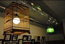 Lámparas La Cartonería / Lámparas realizadas con diferentes materiales