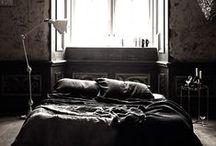 Wnętrza. Sypialnia.