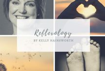 Reflexology by Kelly Hainsworth / Reflexology treatments by Kelly Hainsworth.