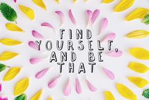 Add a bit of positivity to your day ☼