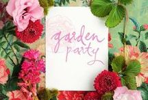 Garden Party / Everything you need to host a perfect garden party