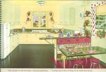"""1940s vintage home decor / """"Now, the dining room. I'd like yellow. Not just yellow; a very gay yellow. Something bright and sunshine-y. I tell you, Mr. PeDelford, if you'll send one of your men to the grocer for a pound of their best butter, and match that exactly, you can't go wrong!"""" ~ Muriel Blandings (Mr. Blandings Builds His Dream House), 1948"""