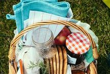 """Let's go on a picnic! / """"If ants are such busy workers, how come they find time to go to all the picnics?"""" ~Marie Dressler"""