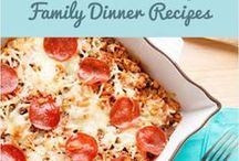 Easy Family Recipes / Check out quick and easy family-friendly recipes for weeknight dinners, school lunches and healthy snacks and treats!