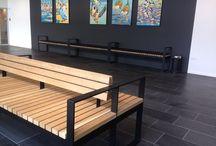 Wood Bench -design / Design by: bodil-stylisten.dk