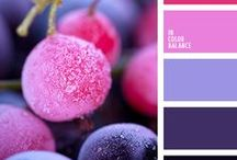 Color Combinations / Pictures with colors that go nicely together.