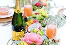 so fresh / Lemons, tangerines, flowers and fun. These are the fresh spring event ideas we are craving! #blancdenver