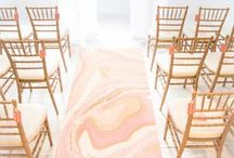 marble wedding inspiration / how to use marble in your wedding! marble linens, cakes, invitations, signs, and more!