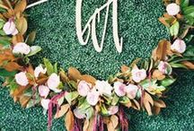 fall wedding / fall flowers, cake, decorations, and more for your autumn wedding here at blanc! #fallwedding #weddinginspiration #autumnwedding