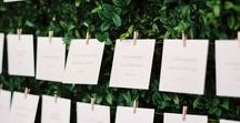 escort cards & seating chart / let your seating chart and escort cards rise up to the occasion! these details can take your wedding to the next level! #weddings #seatingchart #escourtcards