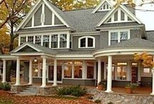 Dream Home / House plans and exteriors / by Susan Hutchens Steel