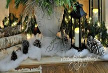 Winter Cold & Decor / Winter scenes &  Sleigh rides & Decor / by Susan Hutchens Steel