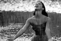 "♫ ☂ I'm singin in the rain ☂♫ / ""Let the rain kiss you. Let the rain beat upon your head with silver liquid drops. Let the rain sing you a lullaby."" ~Langston Hughes 