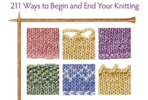 Knit Stitches and Tutorials / by Carolyn Riley