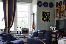Every Room Is A Music Room / Home Decor inspired by...you guessed it....MUSIC!