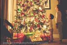 Christmas Trees  / Never worry about the size of your Christmas tree.  In the eyes of children, they are all 30 feet tall.  
