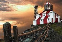 ~ Beautiful Lighthouses of the World / by Robin Wheeler Lockbeam