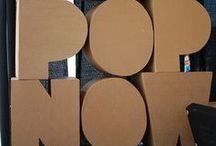 Cardboard / Living in a box...