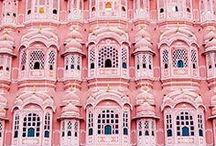 | Sweet Pinks | / Colour Board - Sweet pinks, everything from travel, style and interiors