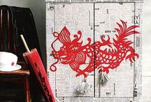 Oriental Oppulence / Decor ideas for a new Asian inspired display home