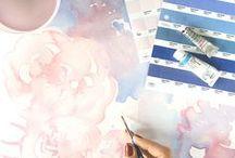 | Serenity & Rose Quartz |