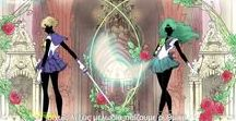 Sailor Neptune(Michiru) and Sailor Uranus(Haruka)