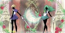 Sailor Neptune(Michiru) and Sailor Uranus(Haruka)