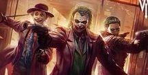Comics: Heros and Villians