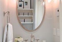 Powder Room Designs by Natasha K Design / A board sharing some of the powder room designs I have completed over the last few years!