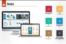 Flat PowerPoint Templates / PowerPoint Presentation Templates ( Flat )