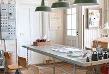 IMAKIN | Creative Work Spaces / Artist Studio's I Inspirational Spaces | Creative Spaces | Office | Work Spaces | workshop spaces