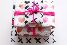 DIY | Giftwrapping / DIY / Do It Yourself Giftwrapping