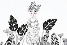 INSPIRATION | Illustration&Handlettering / drawing | handlettering | illustration