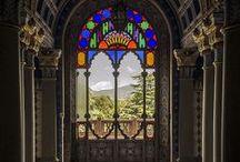 "Sammezzano Castle / The Castle of Sammezzano, near Florence in Tuscany, is a perfect example of the realization of a "" utopia "" in homage to the East. http://www.weekendromanticotoscana.info/en/blog-en/curiosity/sammezzano-castle/"