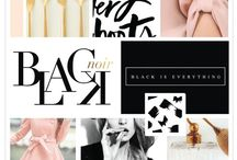 INSPIRATION | Moodboards / Beautiful moodboards for inspiration