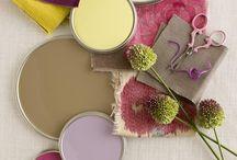 COLOUR | Palettes / Beautiful colour combinations